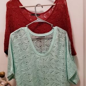 2 maurices sweaters